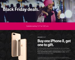 T-Mobile Black Friday 2017 Sale Ad