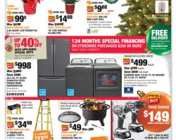 Home Depot Black Friday Ad 2017