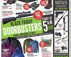 Cabela's Black Friday Ad Deals 2017