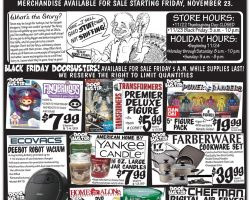 Ollie's Bargain Outlet Black Friday Ad 2018