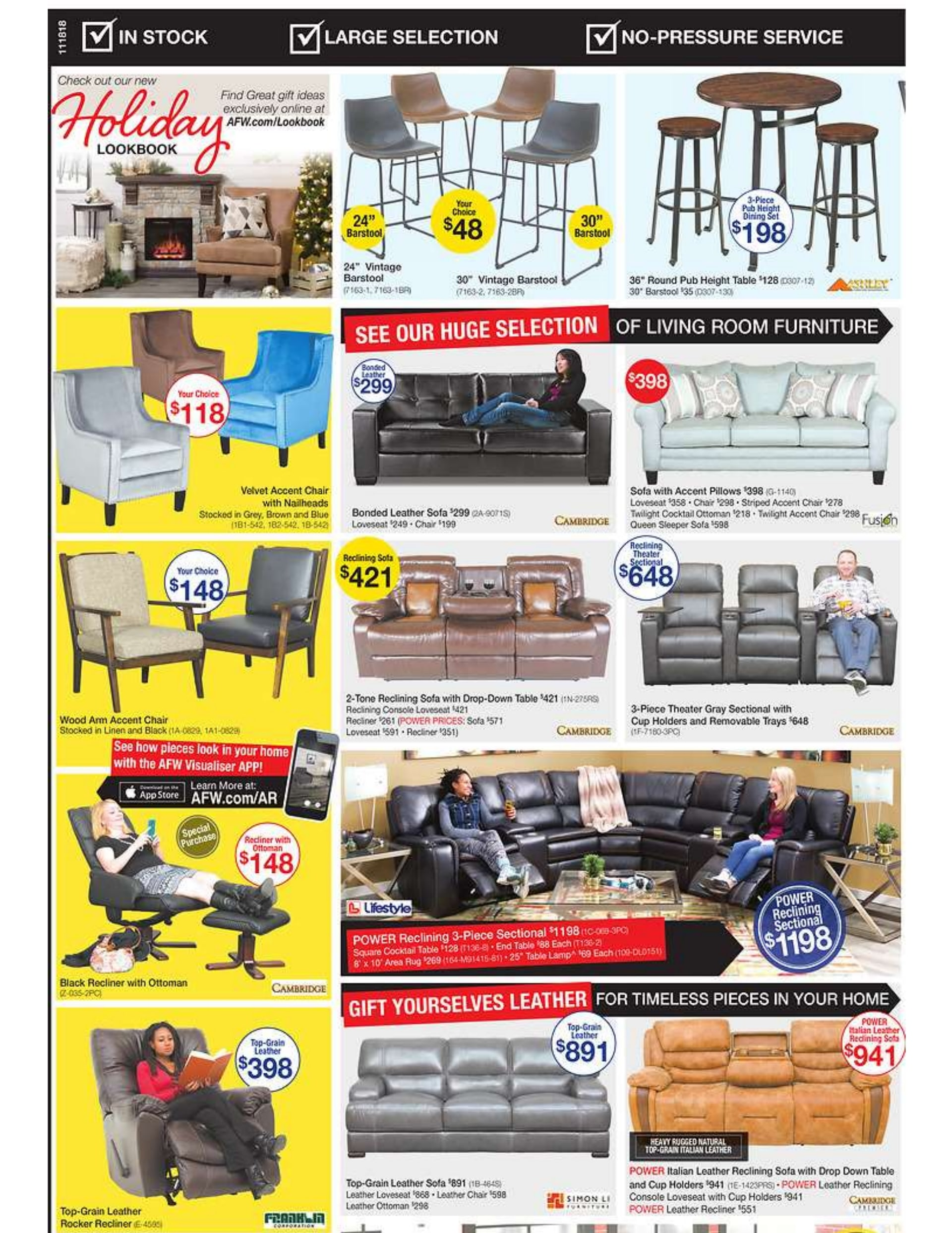 American Furniture Warehouse Black Friday Ad 2018